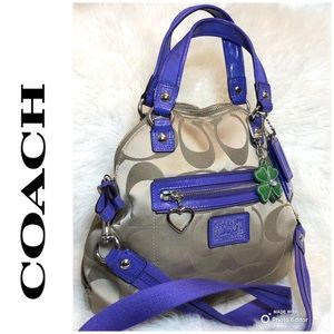 Coach Poppy Satchel Crossbody